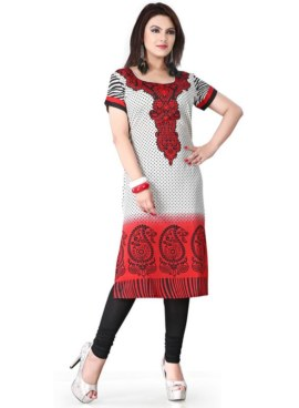 American Crepe Printed Kurtis Wholesale Rate EVENT – 116 A
