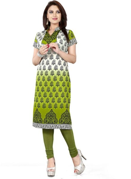 American Crepe Printed Kurtis Wholesale Rate EVENT – 118 D