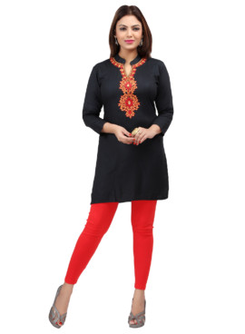 Rayon Embroidered Kurtis Wholesale Rate EYON 02D
