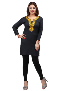 Rayon Embroidered Kurtis Wholesale Rate EYON 03D