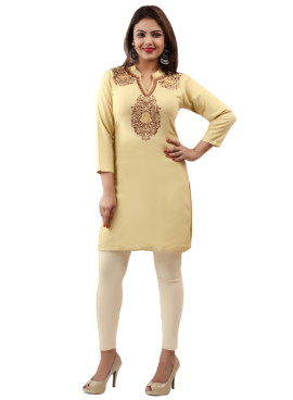 Rayon Embroidered Kurtis Wholesale Rate EYON 04C