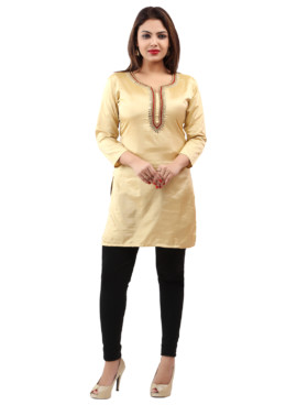 Georgette With Lining Embroidered Kurtis Wholesale Rate EYON 06D